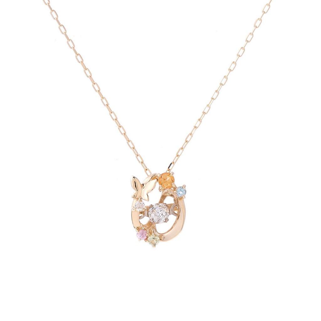 サマンサティアラSwingleユリシスモチーフ ダイヤモンドネックレス