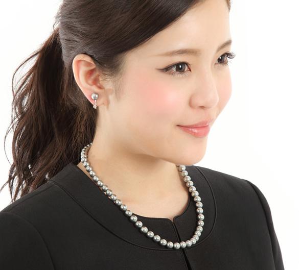 冠婚葬祭用ネックレス