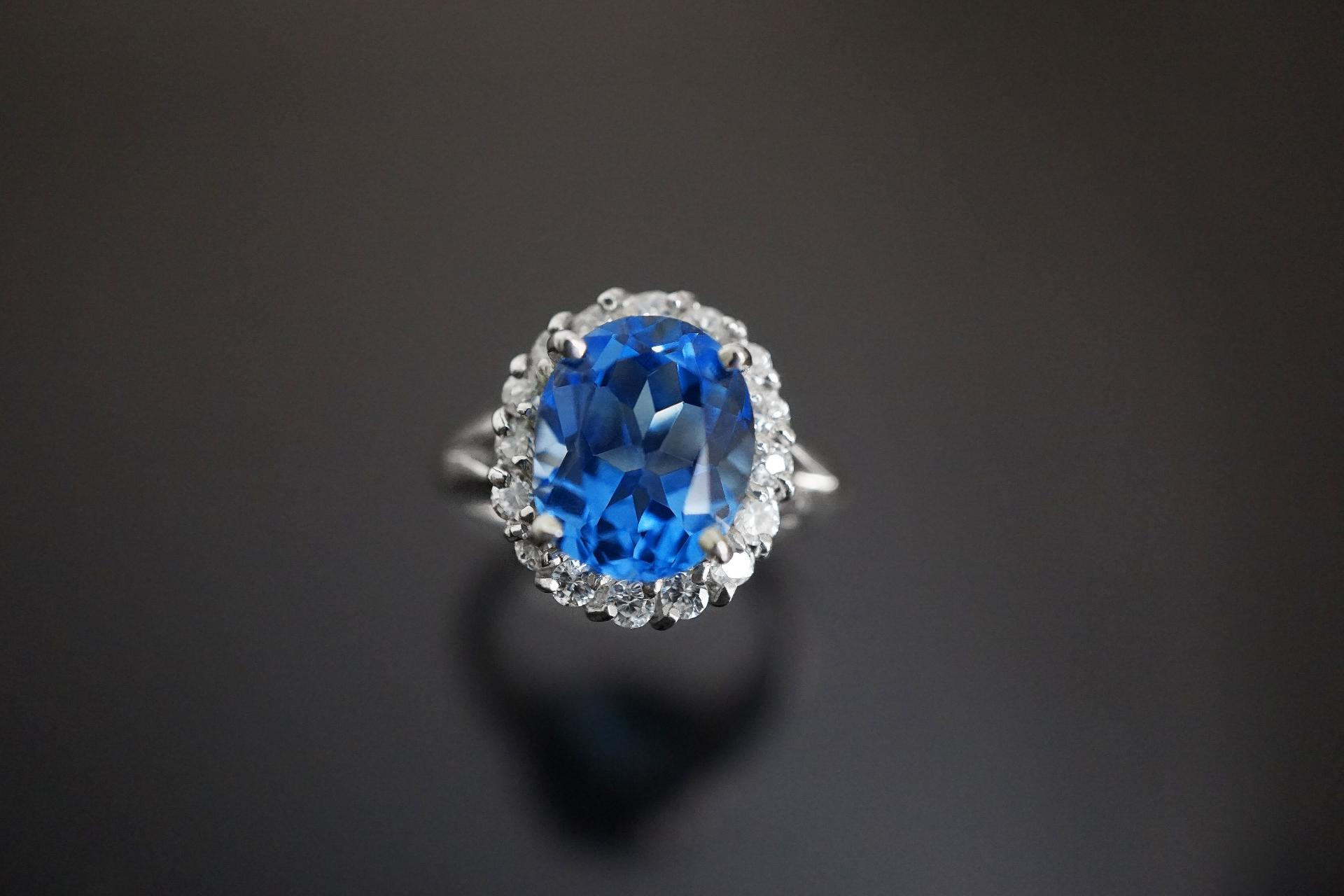 サファイア指輪